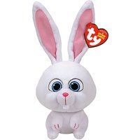 Ty Beanie The Secret Life of Pets Snowball Soft Toy, 13cm