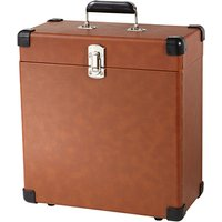 Crosley Record Carrier Case For 30+ Vinyls, Tan