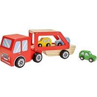 John Lewis Wooden Car Transporter Playset