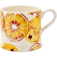 Emma Bridgewater 'Oranges' Baby Mug, Orange, 200ml