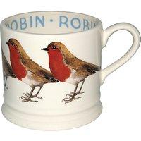 Emma Bridgewater Robin Baby Mug, Multi, 140ml