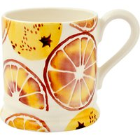 Emma Bridgewater 'Oranges' Half Pint Mug, Orange, 284ml