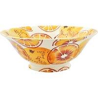 Emma Bridgewater Toast & Marmalade 'Oranges' Serving Bowl, Orange, Dia.20cm