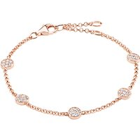 Thomas Sabo Glam & Soul Sparkling Circles Bracelet