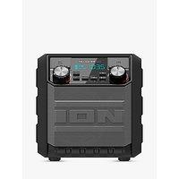 ION Tailgater GO Splash-Resistant Bluetooth Portable Speaker, Grey
