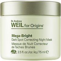 Dr. Andrew Weil for Origins Mega-Bright Dark Spot Correcting Night Mask, 75ml