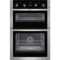 Neff U14M42N5GB Built-In Double Oven, Stainless Steel