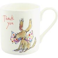 McLaggan Smith Quentin Blake Thank You Dog Mug