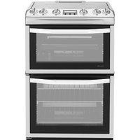 John Lewis JLFSGC616 Gas Cooker, Stainless Steel