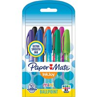 Paper Mate Inkjoy Mini Ballpoint Pen, Pack of 10