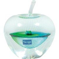 Svaja Forbidden Fruit Small Glass Ornament, Green