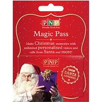 Portable North Pole Magic Gold Pass