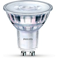 Philips 5.5W GU10 LED Dimmable Light Bulb, Warm White