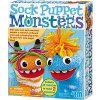 Great Gizmos Sock Puppet Monsters