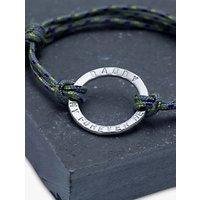 Chambers & Beau Personalised Mens Halo Rope Bracelet