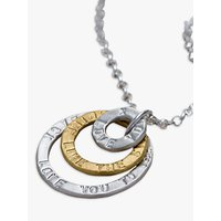 Chambers & Beau Personalised Triple Halo Necklace