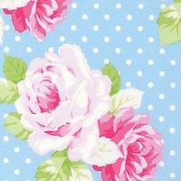 Freespirit Tanya Whelan Dottie Rose Print Fabric