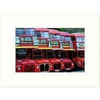 Barbara Chandler - Hackney Bus Garage 1998 Unframed Print, 30 x 40cm