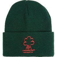 Ashbrooke School Beanie Hat, One Size, Green Bottle