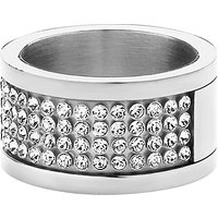Dyrberg/Kern Emily Swarovski CrystaI Ring, Silver