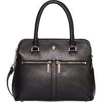 Modalu Pippa Small Leather Grab Bag, Black