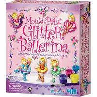Mould & Paint Glitter Ballerina Kit
