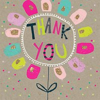 Hammond Gower Thank You Flower Cards, Pack Of 8