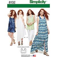 Simplicity Womens Dresses Sewing Pattern, 8132
