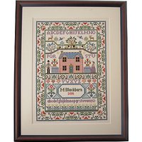 Bothy Threads Cottage Counted Cross Stitch Kit