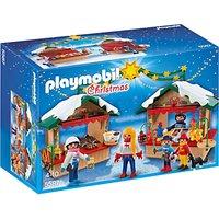 Playmobil Christmas Fair Set