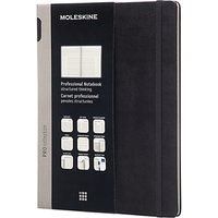 Moleskine Hardback Professional Notebook, Extra Large, Black