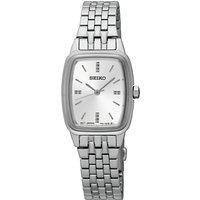 Seiko Womens Rectangular Dial Bracelet Strap Watch