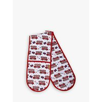 Milly Green Celebration of Britain Cotton Double Oven Mitt, Multi