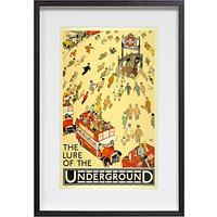 London Transport Museum - The Lure Of The Underground Framed Print, 35 x 54cm