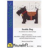 Mouseloft Scottie Dog Cross Stitch Kit