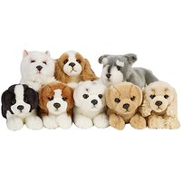 Living Nature Puppy Soft Toy, Small, Assorted