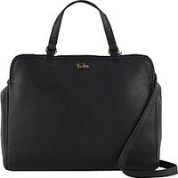 Tula Nappa Originals Leather Medium Tote Bag, Black