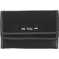Tula Violet Leather Medium Flapover Wallet