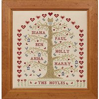 Historical Sampler My Family Tree Cross Stitch Kit