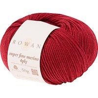Rowan Super Fine Merino 4 Ply Yarn, 50g