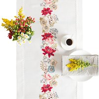Rico Autumn Flowers Runner Counted Cross Stitch Kit