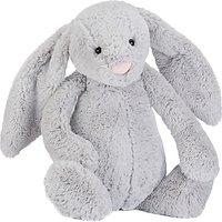 Jellycat Bashful Silver Bunny Soft Toy, X-Large