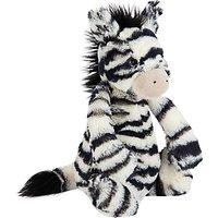 Jellycat Bashful Zebra Soft Toy, Medium