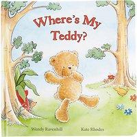Jellycat Wheres My Teddy Book