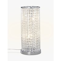 John Lewis Emilia Large Table Lamp, Clear