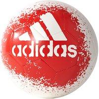 Adidas X Glider II Football, Size 5, White/Red