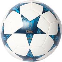 Adidas UEFA 2017 Cardiff Final Mini Football, Size 1, White/Blue