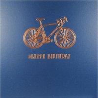 Woodmansterne Bicycle Illustration Greeting Card