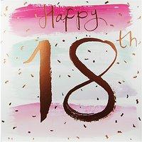 Cardmix Happy 18th Birthday Card