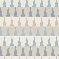 harlequin tresillo azul wallpaper